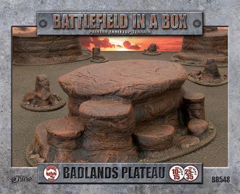 Battlefield in a Box Battlefield in a Box: Badlands Plateau Terrain