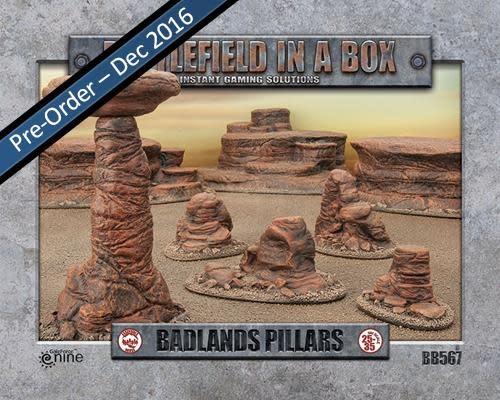 Battlefield in a Box Battlefield in a Box: Badlands Pillars