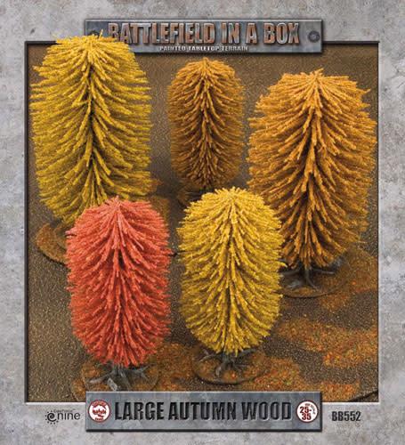 Battlefield in a Box Battlefield in a Box: Large Autumn Wood