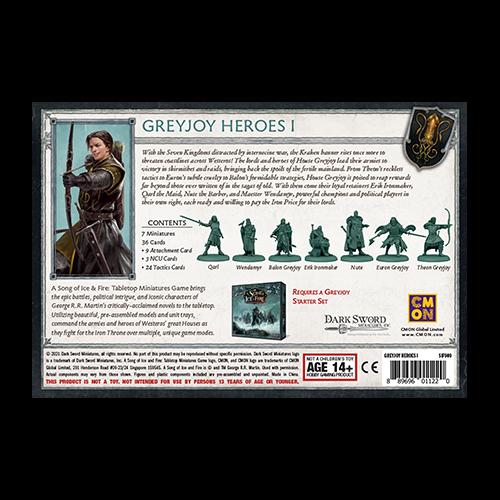 CMON Song of Ice & Fire: Greyjoy Heroes I