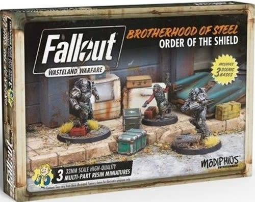 Modiphius Fallout Wasteland Warfare: Brotherhood- Order of the Shield