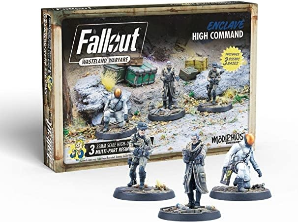 Modiphius Fallout Wasteland Warfare: Enclave- High Command