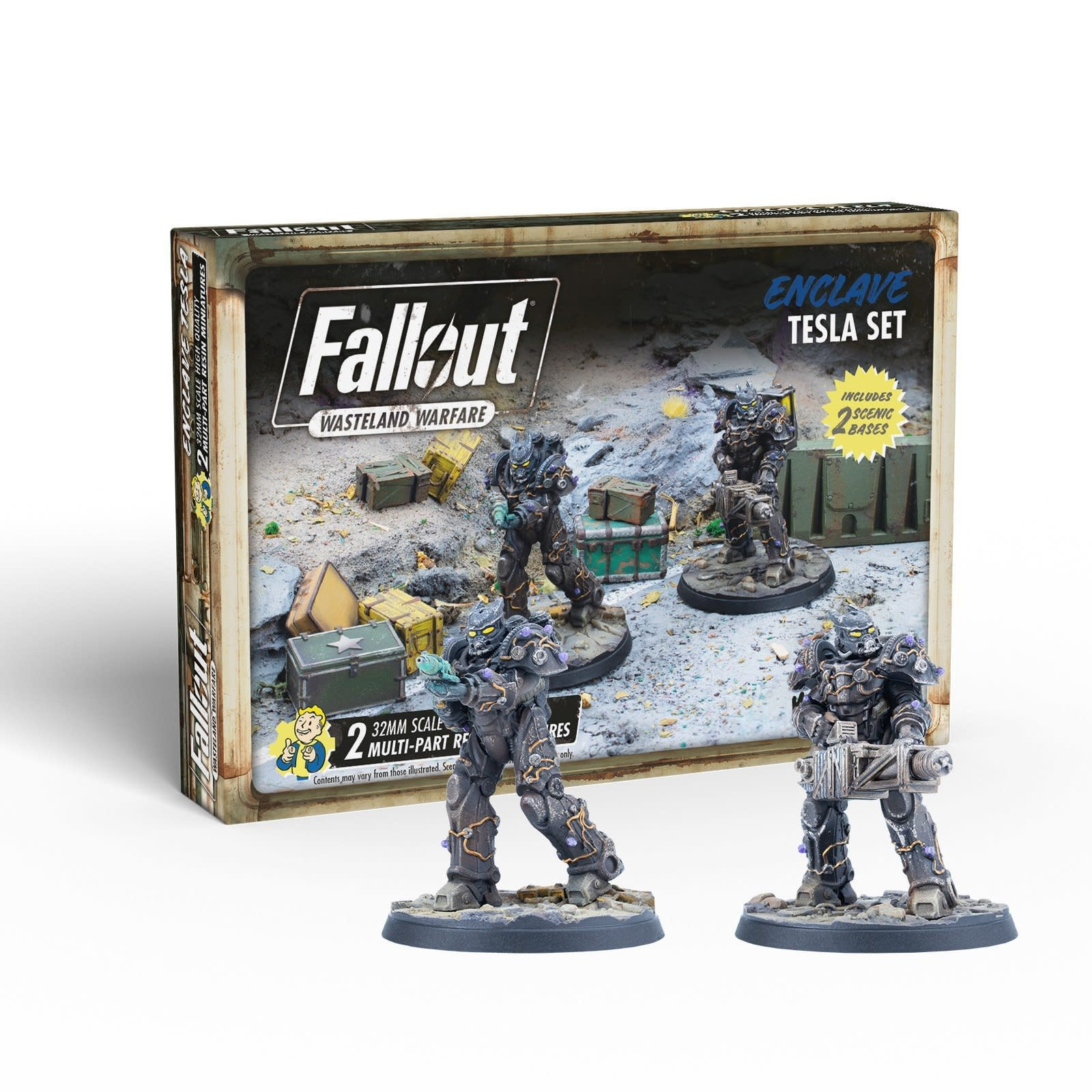 Modiphius Fallout Wasteland Warfare: Enclave- Tesla