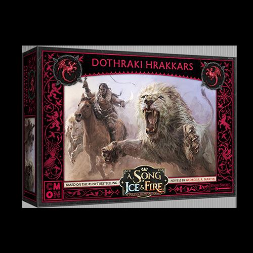 CMON Song of Ice & Fire: Targaryen Dothraki Hrakkars