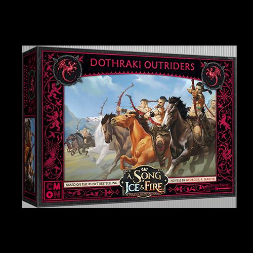 CMON Song of Ice & Fire: Targaryen Dothraki Outriders