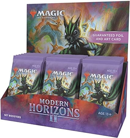 Magic the Gathering Magic the Gathering: Modern Horizons 2 Set Booster