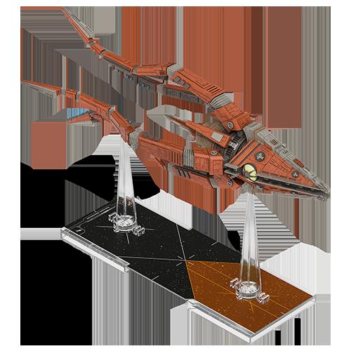 Fantasy Flight Star Wars X-Wing: Trident-Class Assault Ship