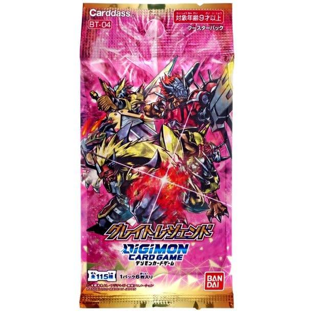 Bandai Digimon CCG: Great Legend Booster