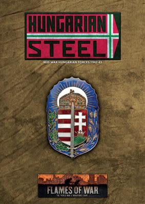 Flames of War Flames of War: Hungarian Steel- Unit and Command cards