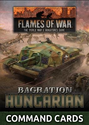 Flames of War Flames of War Command Cards: Bagration Hungarian