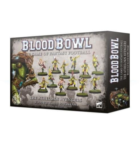 Games Workshop Blood Bowl: Athelorn Avengers- Wood Elf Team