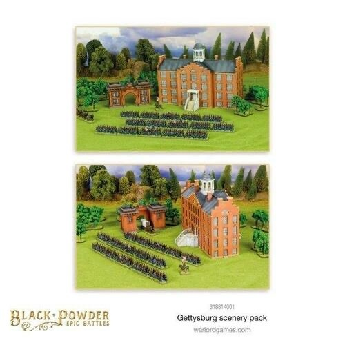 Black Powder Black Powder: Gettysburg Scenery Pack