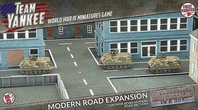 Battlefield in a Box Team Yankee Terrain: Modern Roads