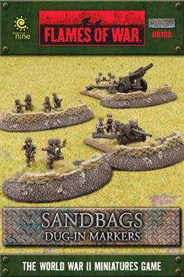 Battlefield in a Box Battlefield in a Box: Sandbags Dug in Markers
