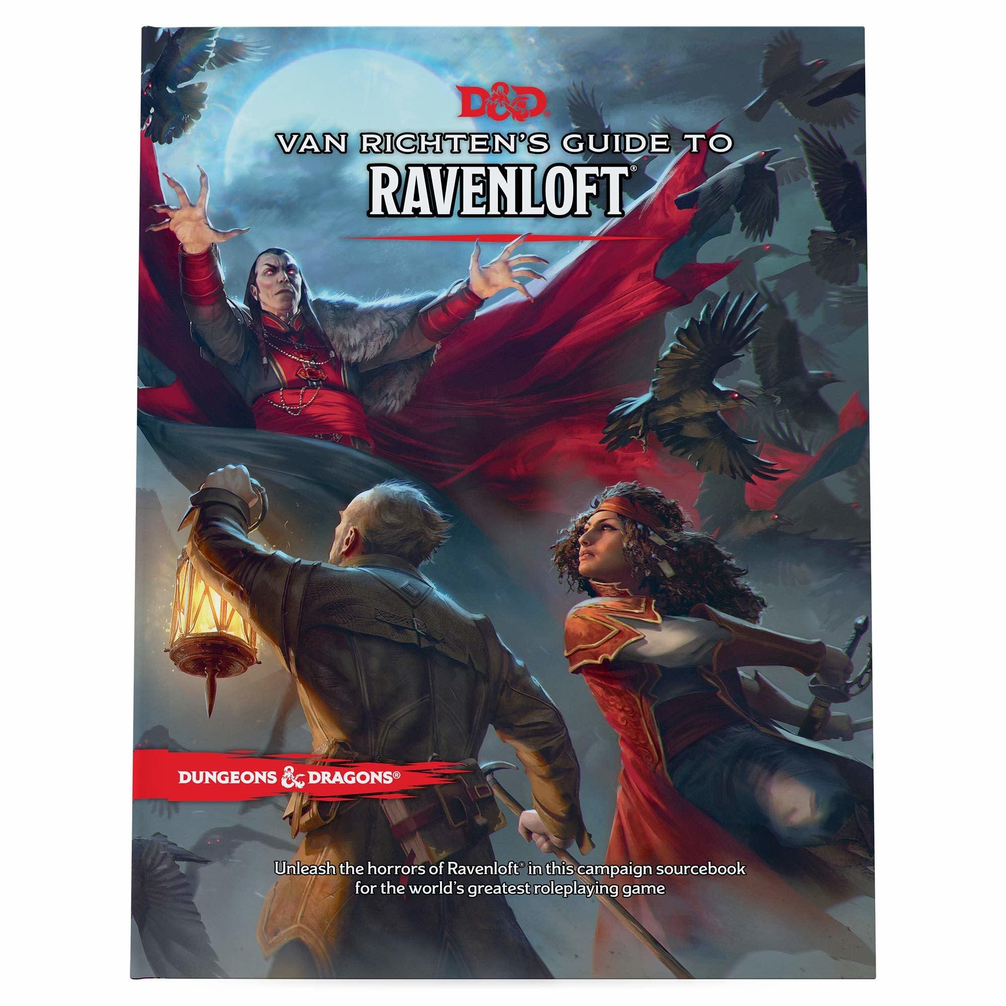 Wizards of the Coast D&D Book: Van Richten's Guide to Ravenloft
