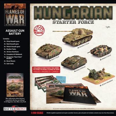 Flames of War Flames of War: Hungarian- Assault Gun Battery Starter Box
