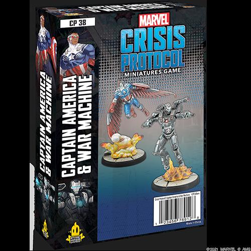 Atomic Mass Games Marvel Crisis Protocol: Captain America & War Machine