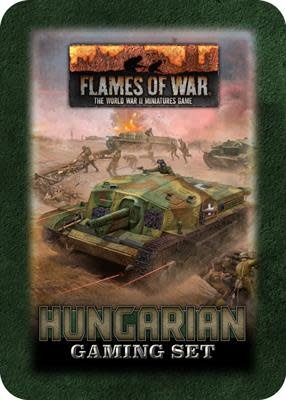 Flames of War Flames of War Gaming Set: Hungarian
