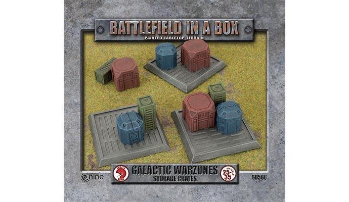Battlefield in a Box Battlefield in a box: Galactic Warzones Storage Crates