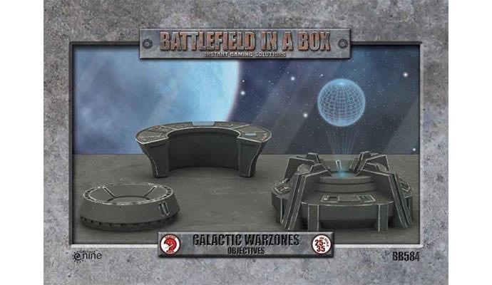 Gale Force Nine Battlefield in a Box: Galactic Warzones Objectives