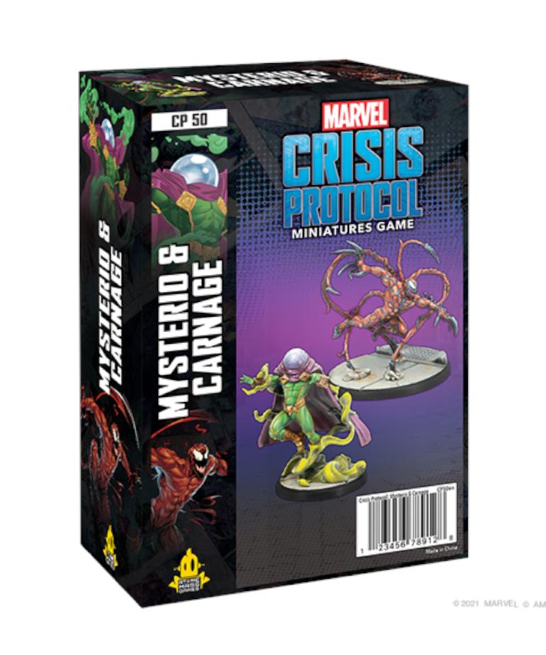 Atomic Mass Games Marvel Crisis Protocol: Mysterio & Carnage