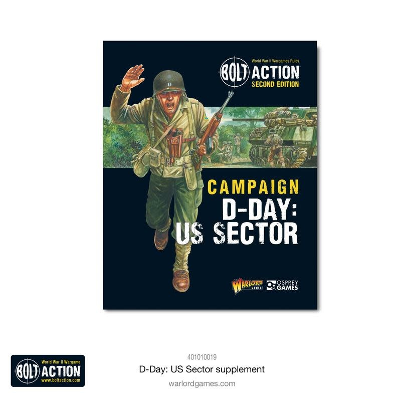 Warlord games Bolt Action Book: Champaign D-Day US Sector