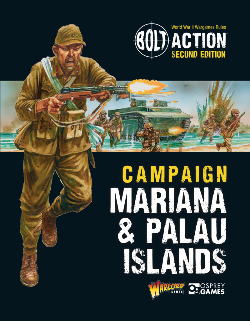 Warlord games Bolt Action Book: Campaign Mariana & Palau Islands