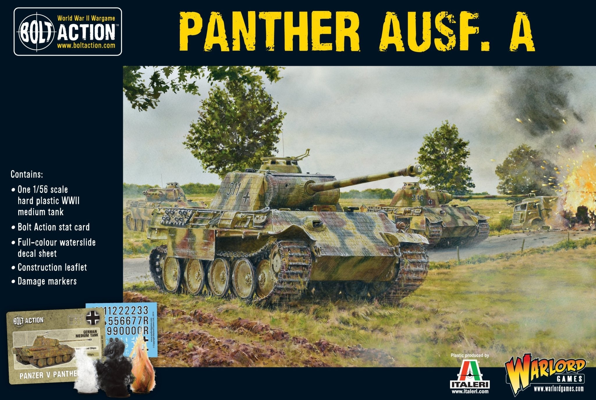 Warlord games Bolt Action: German- Panther Ausf A