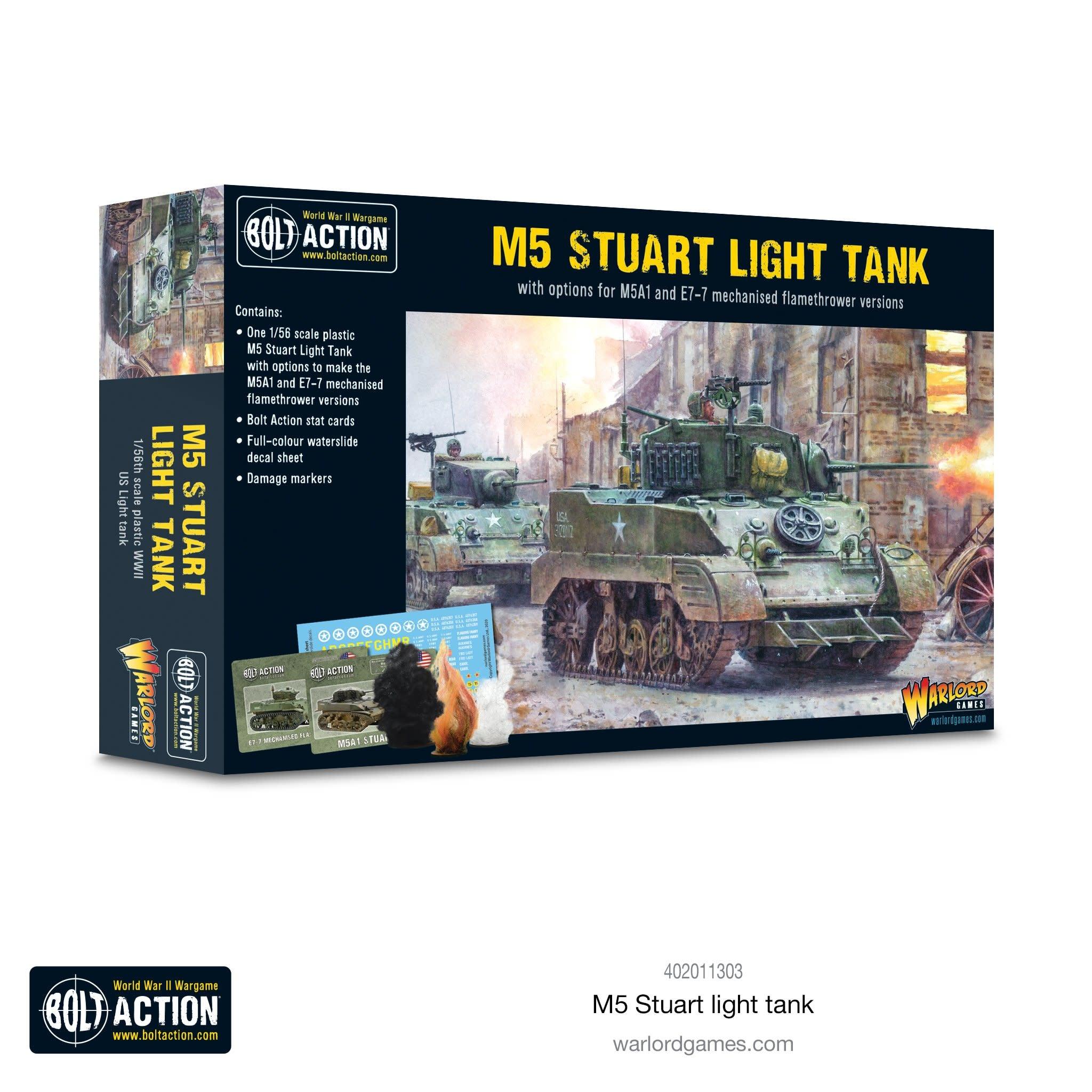 Warlord games Bolt Action: US- M5 Stuart Light Tank