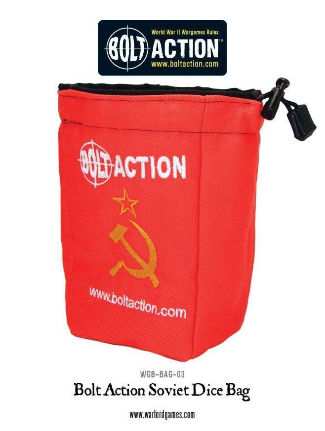 Warlord games Bolt Action Dice Bag Soviet
