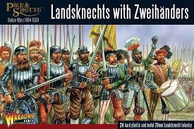 Warlord games Pike & Shotte: Landsknecht Zweihanders
