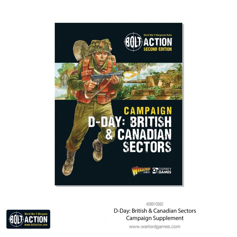 Warlord games Bolt Action Book: Campaign D-Day British & canadian