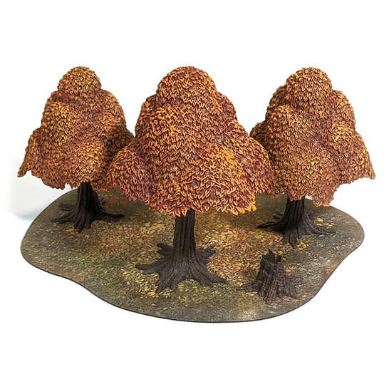 Monster fight club Monster Scenery: Autumn Forest