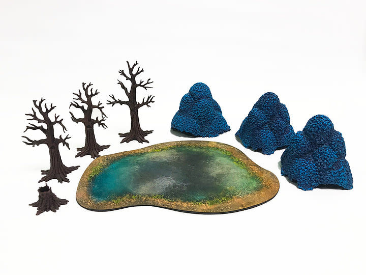 Monster fight club Monster Scenery: Twilight Forest (bagged Blue)