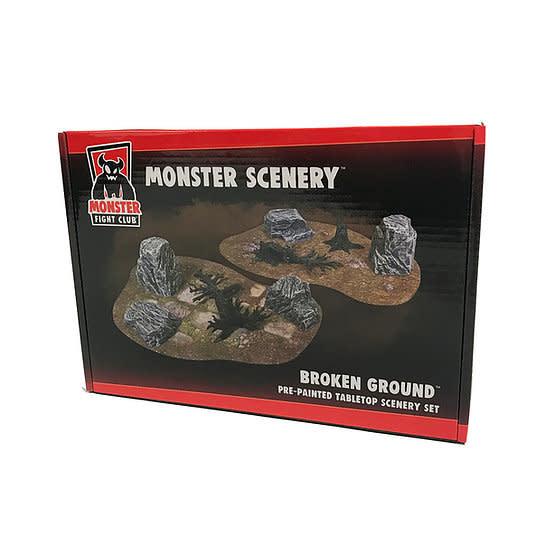 Monster fight club Monster Scenery: Broken Gorund