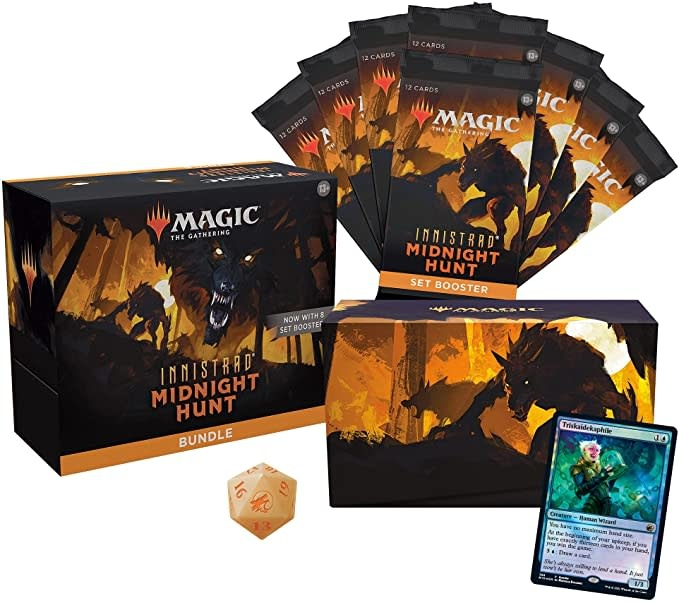 Magic the Gathering Magic the Gathering: Innistrad Midnight Hunt Bundle