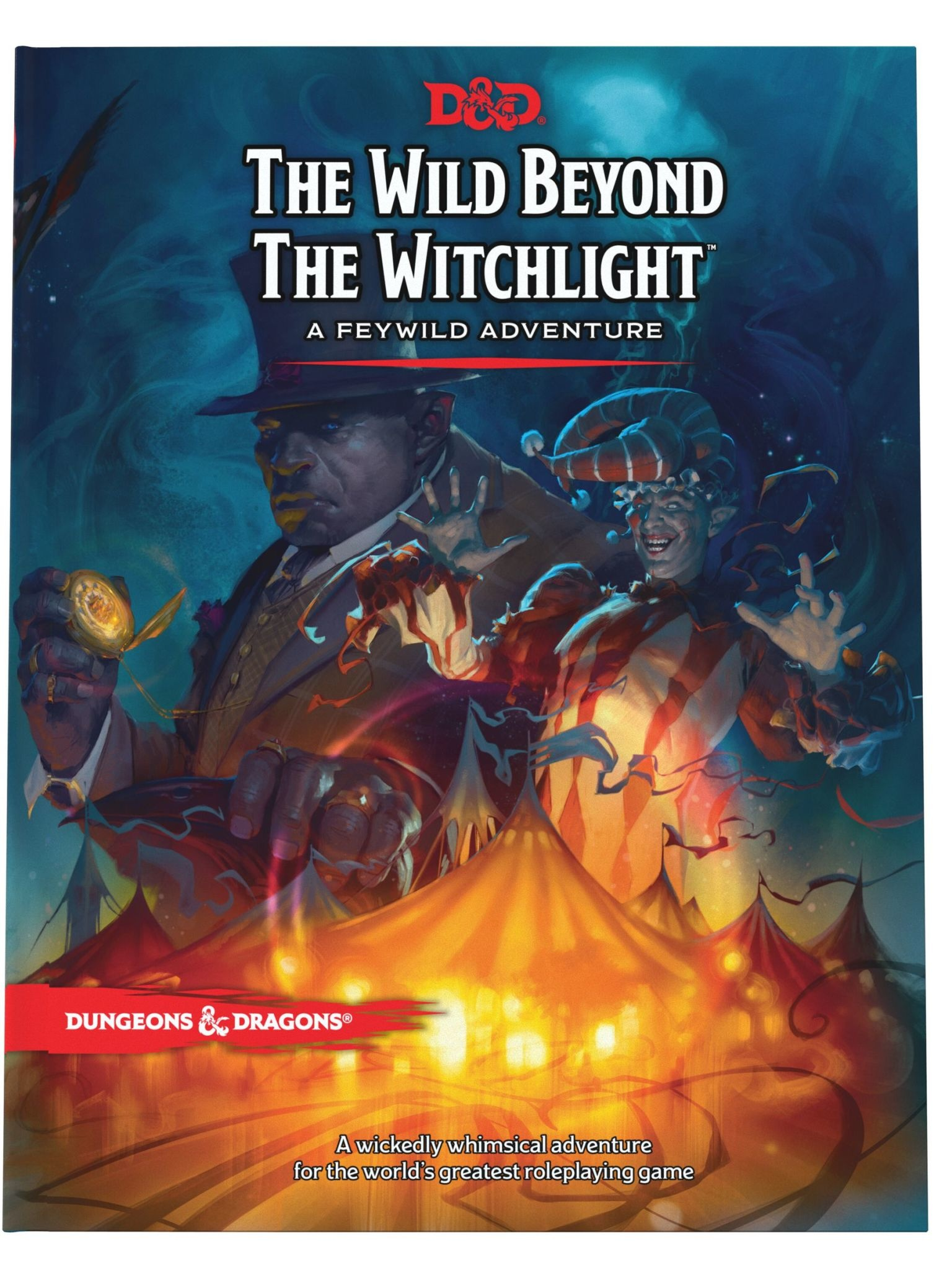 Wizards of the Coast D&D Book: The Wild Beyond the Witchlight