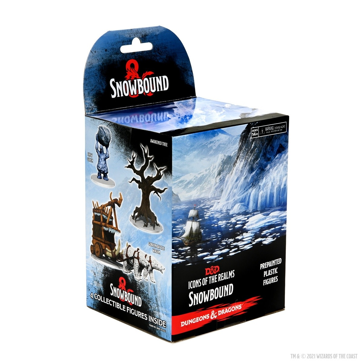 Wizkids D&D Icons of the Realms Miniature Booster: Snowbound