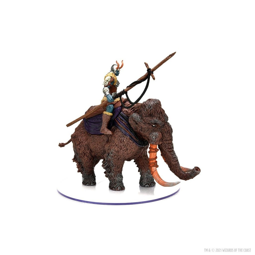Wizards of the Coast D&D Icons of the Realm: Frost Giant on Mammoth