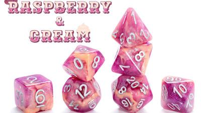 Gate keeper games Gate Keeper Games Dice: Aether- Raspberry & Cream