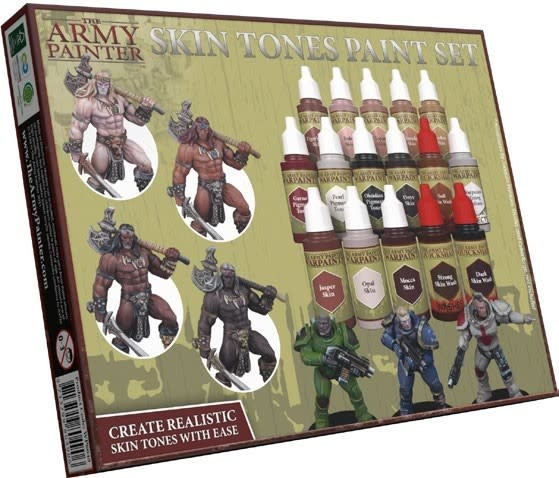 The army Painter Army Painter: Skin Tones Paint Set