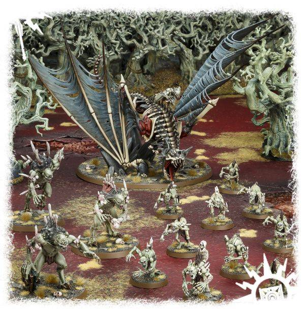 Warhammer AoS Start Collecting Flesh-eater Courts