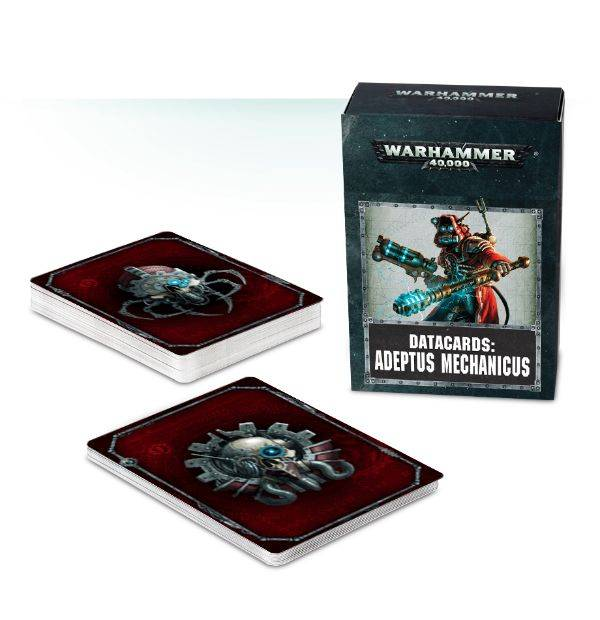 Games Workshop Warhammer 40K Datacards: Adeptus Mechanicus