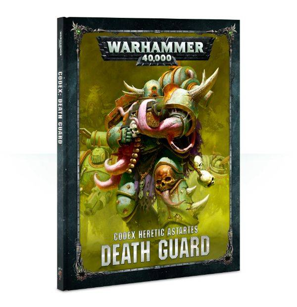 Games Workshop Warhammer 40K Codex: Heretic Astartes Death Guard