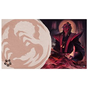 Fantasy Flight Legend of the Five Rings Playmat: Master of Secrets Scorpion