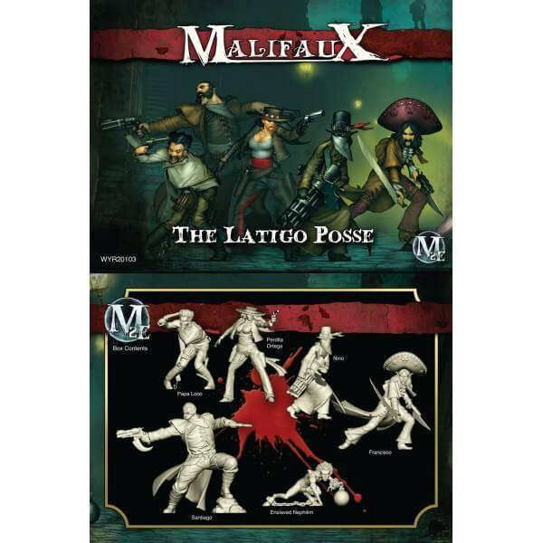 MALIFAUX: Guild Perdita - The Latigo Posse Box Set