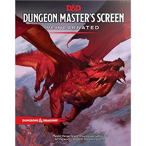 Wizards of the Coast D&D RPG Dungeon Master's Screen: Reincarnated