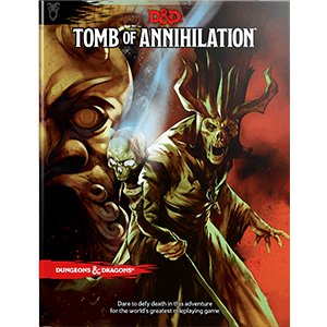 Wizards of the Coast D&D RPG Book: Tomb of Annihilation