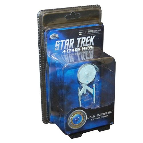 Wizkids Star Trek Attack Wing: Federation U.S.S. Enterprise Expansion Pack
