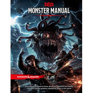 Wizards of the Coast D&D RPG Book: Monster Manual